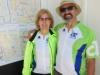 Sanda and Pete in 40th SIJ jerseys